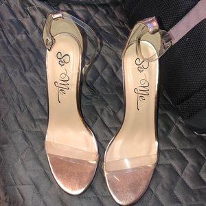 Never worn fashion nova high heels